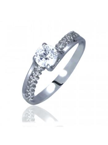 Серебряное кольцо женское с фианитами 3112003401